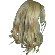 "2 Blond Wigs, 14"" and 9"" hc"