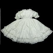 Hand Sewn Dress, Enfantine Style ca. 1860's