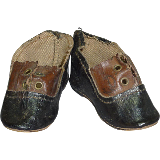 """2-Tone Shoes, 2 3/8"""" x 1"""""""