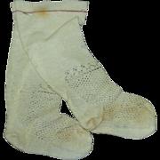 "Stockings, 3"" foot x 5 1/2"" long"