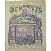 March 1867 Demorest's Monthly Magazine for Ladies