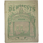 July 1867 Demorest's Monthly Magazine for Ladies, a Mirror of Fashion