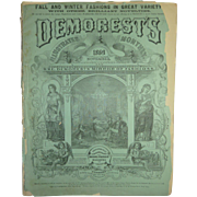 November 1869 Demorest's Monthly Mirror of Fashion
