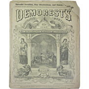 July 1870 Demorest's Monthly Magazine, Mirror of Ladies Fashions