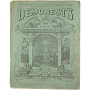 February 1869 Demorest's Monthly Ladies Mirror of Fashion