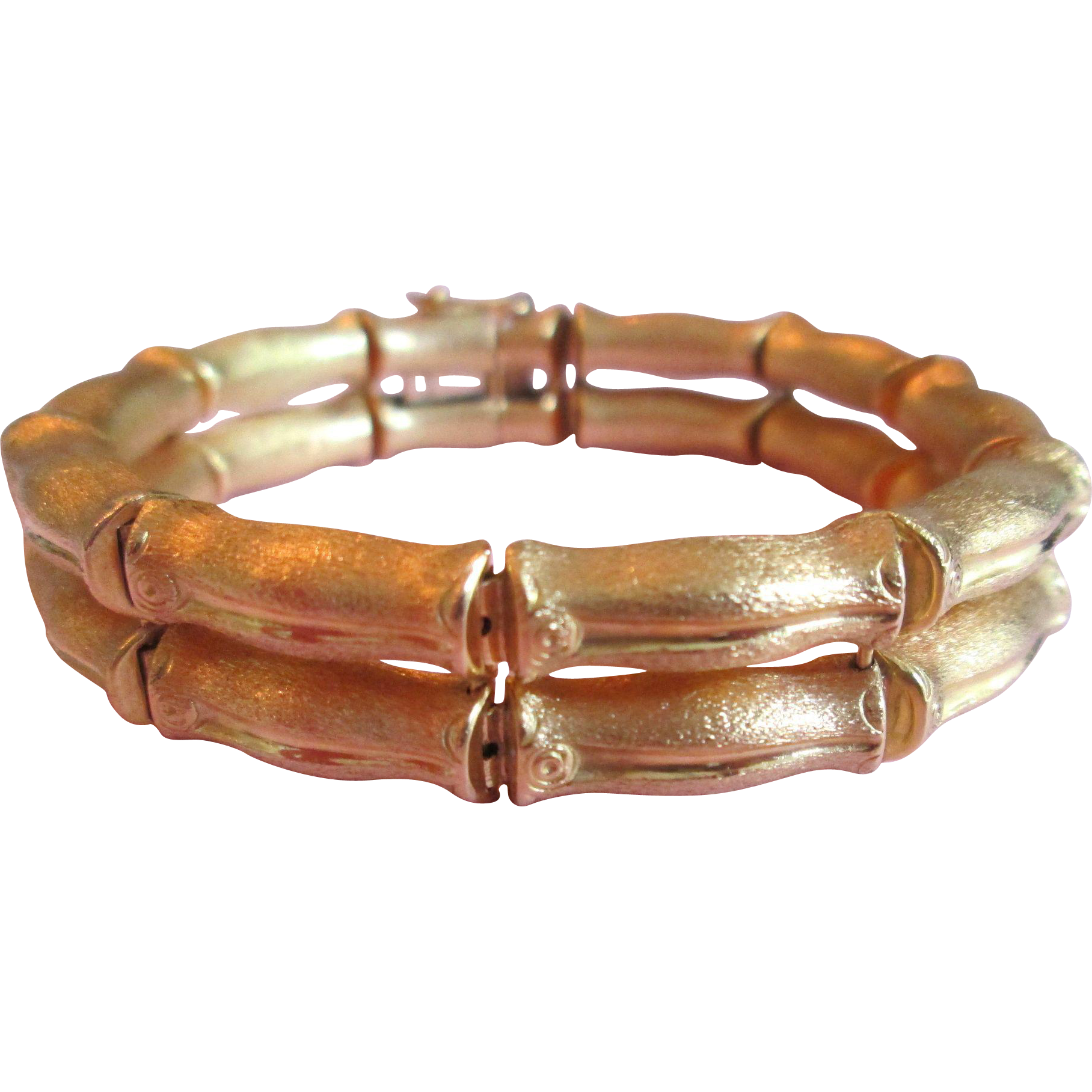 shop link large bracelet gold girovi beach benchmark palm of