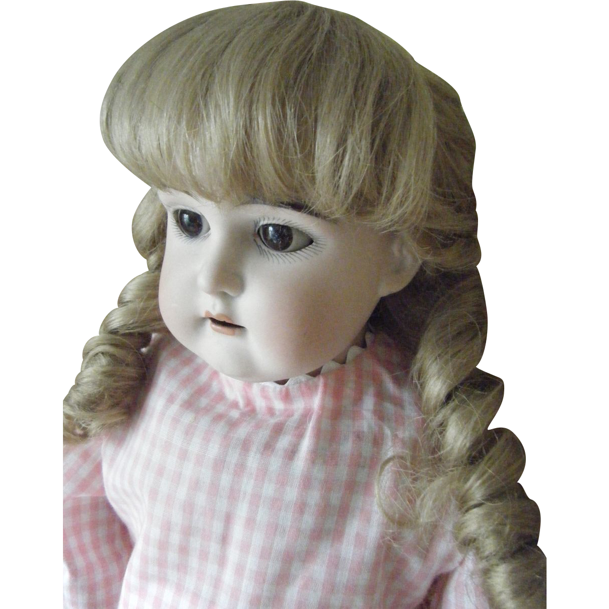 Steinen Germany  city pictures gallery : Antique German Bisque Head Doll 25