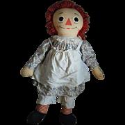 Vintage Raggedy Ann Doll Knickerbocker