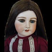 "Antique Unis France 301 Bisque Head Doll 25"""