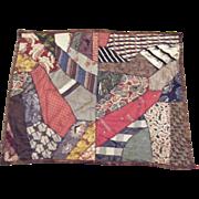 Antique Crazy quilt Small