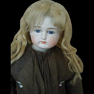 Antique Doll Alt Beck Gottschalk Early ABG Shoulder Head French Market Large