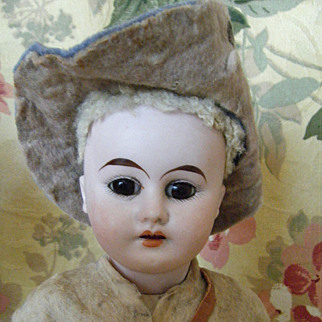 Antique German Rough Rider  or Cival war  Soldier Doll