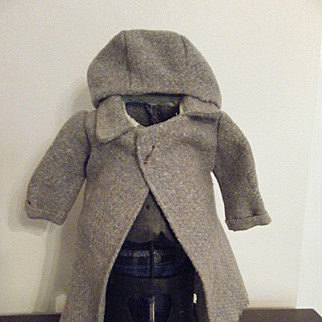 Vintage  Doll Coat and Hat