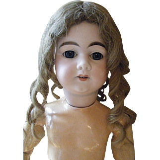 RARE A. M. DEP Doll antique made for French market