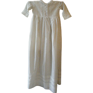 Antique Baby Gown Extra Long and Pretty