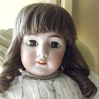 Antique French Tete Jumeau DEP Doll 32 inches Tall