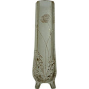 ACB Cameo and gilded glass vase with Dandelion