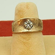 Vintage Gold Diamond Ring