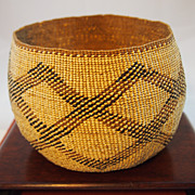 Vintage American Indian Basket