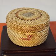 Vintage Makah Indian Basket