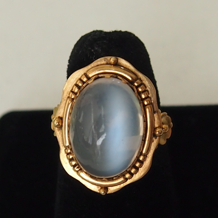 late victorian moonstone ring sold on ruby lane