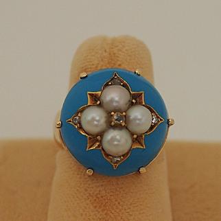 Victorian Tiffany Ring