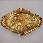 Victorian Brass Pin Tray