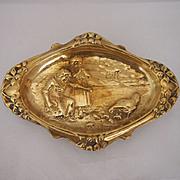 Victorian Brass Pin Tray