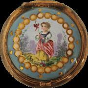 Late Georgian Patch Box