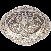 Parisian Silver Box