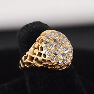 Late Victorian Diamond Ring