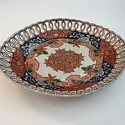 Japanese Imari Oval Plate