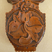 Hand-Carved Lady's Watch Case