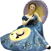 *Final Clearance - Royal Doulton Figurine Pensive Moments HN2704 1975-1981