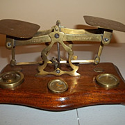 Smithson and Downes Brass Postal Scale