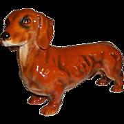 Goebel Dog Dachshund Figurine  H621