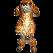 Goebel Puppy Dog Figurine Standing on Hind Legs