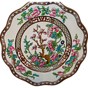 Coalport Indian Tree Multicolor Salad Plate 7 3/4""