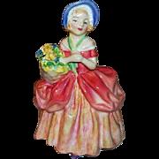"Royal Doulton Figurine Cissie  5"" Tall  HN 1809"