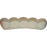 Belleek Shell Mint Tray  2nd Black Mark