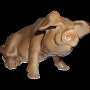 B & G Denmark Pig Figurine  1582