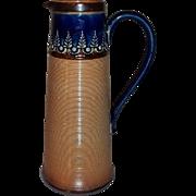Doulton Lambeth Ewer / Pitcher Stoneware