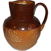 Doulton Limited Lambeth Stoneware Pitcher 7  3/4""