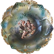 """R S Prussia Melon Eater Bowl Mold 82  10 1/2"""""""