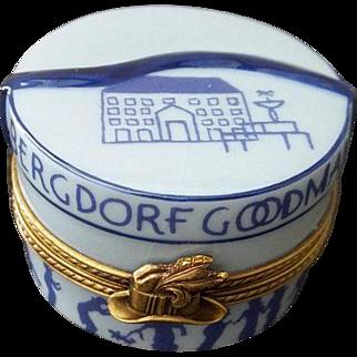 Limoges Bergdorf Goodman Trinket Box.