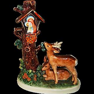 Hummel Figurine Forest Shrine  183 with Original Box  TMRK 6
