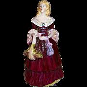 "Coalport Rosa Linda Figurine  6 1/2"" Tall"