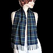 Authentic Signature Tartan Pendleton 100% Virgin Wool Scarf.