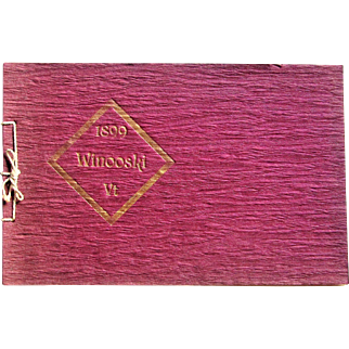 1899 Little Friendly Souvenir of Winooski, Vermont.