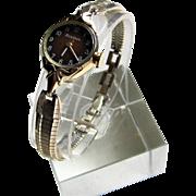 Bulova Self Wind Ladies Dress Wrist Watch- 1977.